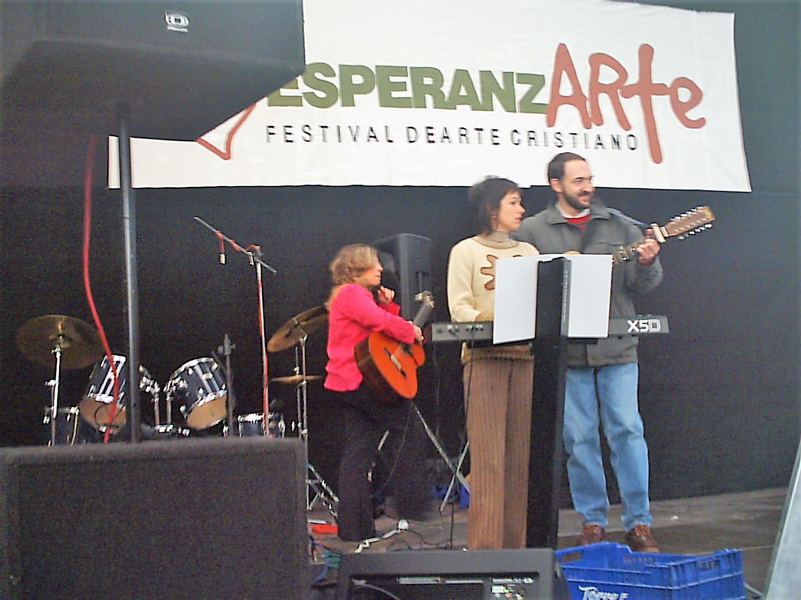 Marta Morell y Juan Yzuel - EsperanzARTE 2004