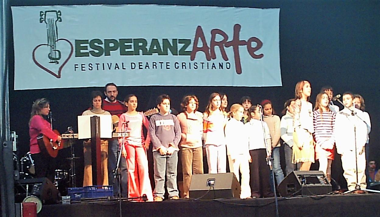 Coro Cristo Rey - EsperanzARTE 2004